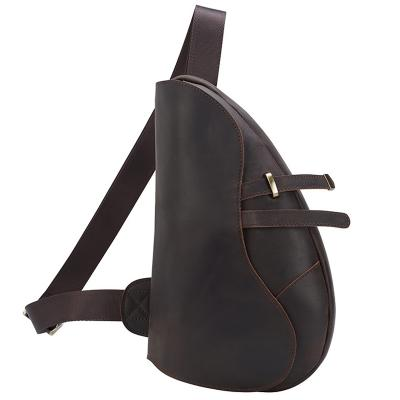 Tiding Real Leather Crossbody Bag