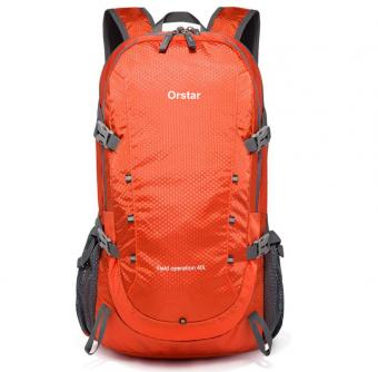 40L Lightweight Packable Backpack Water Resistant Hiking Daypack Foldable Camping Outdoor Bag - ORSTAR