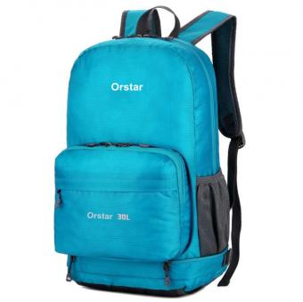 Foldable Water Resistant Daypack Unisex Collapsible Backpack 30L Lightweight Hiking Packable Bag - ORSTAR